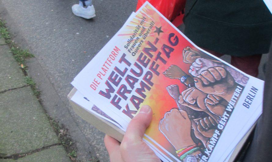 Demonstrationen zum WELTFRAUEN-*KAMPFTAG